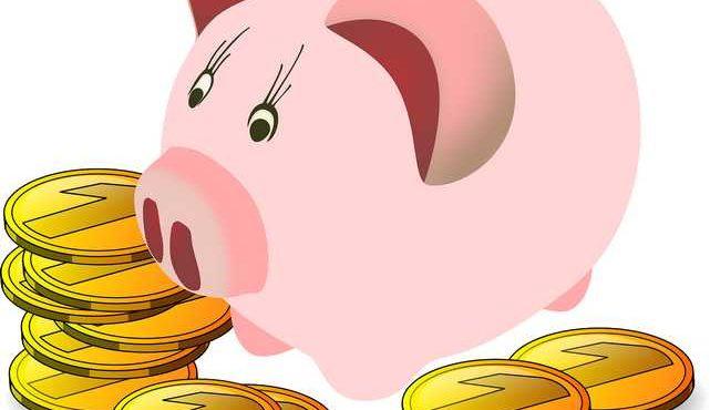 Peníze v rukou dětí