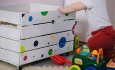 Skladování hraček: Nápady pro dětský pokoj