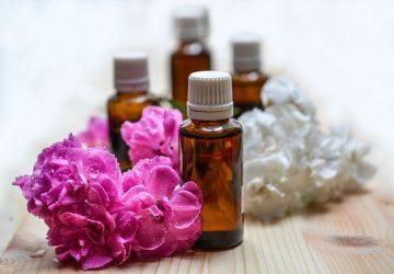 Aromatické oleje na obličej