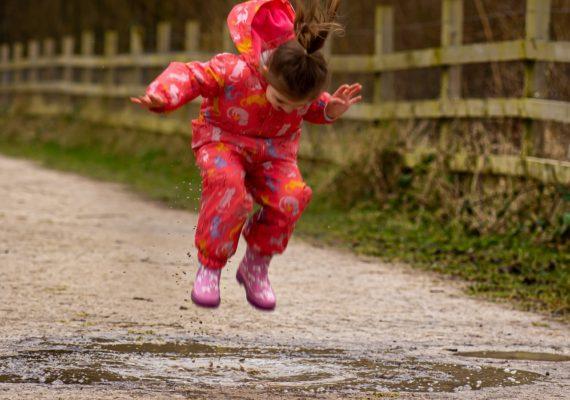 S dětmi zamiřte ven i v dešti