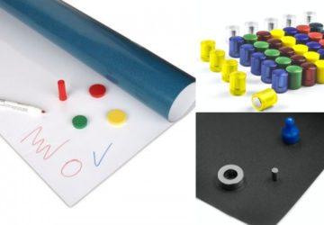 Magnetická tabule pro děti – Vytvořte si ji z fólie